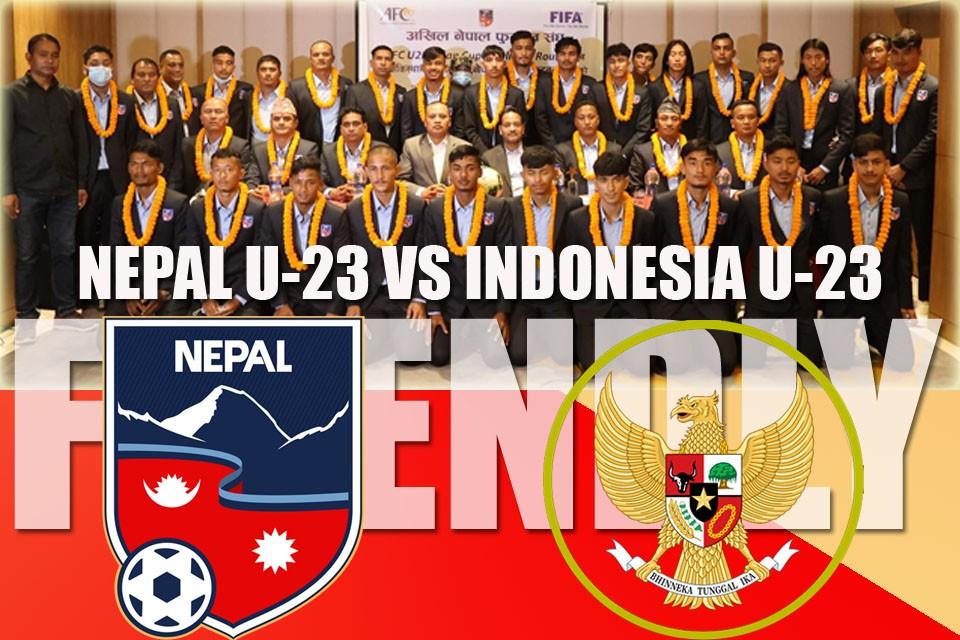 नेपाल यु–२३ फुटबल टोलीले इण्डोनेसियासँग खेल्ने तय